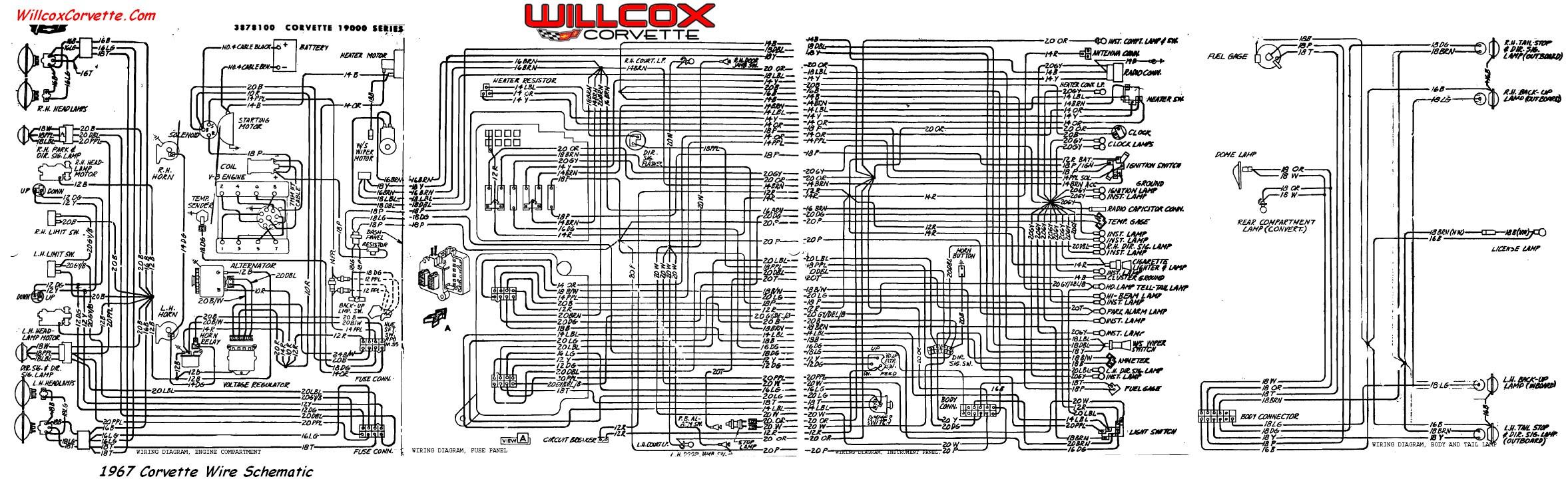 C3 Corvette Engine Wiring Diagram