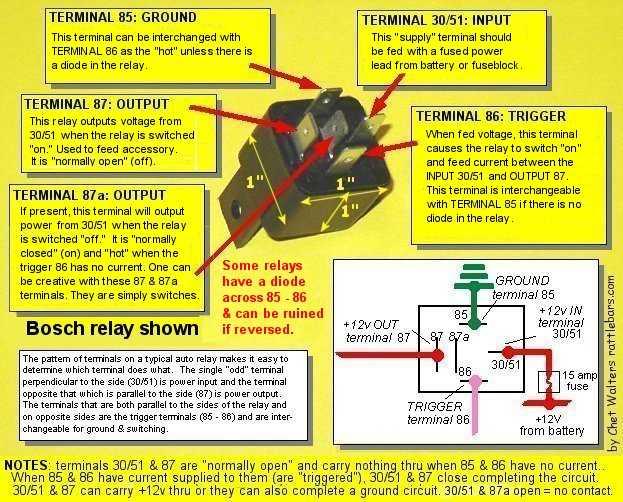 cr5387 bosch relay wiring schematic schematic wiring