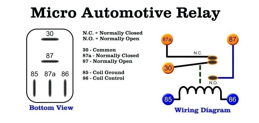 Bosch Mini Relay Wiring Diagram