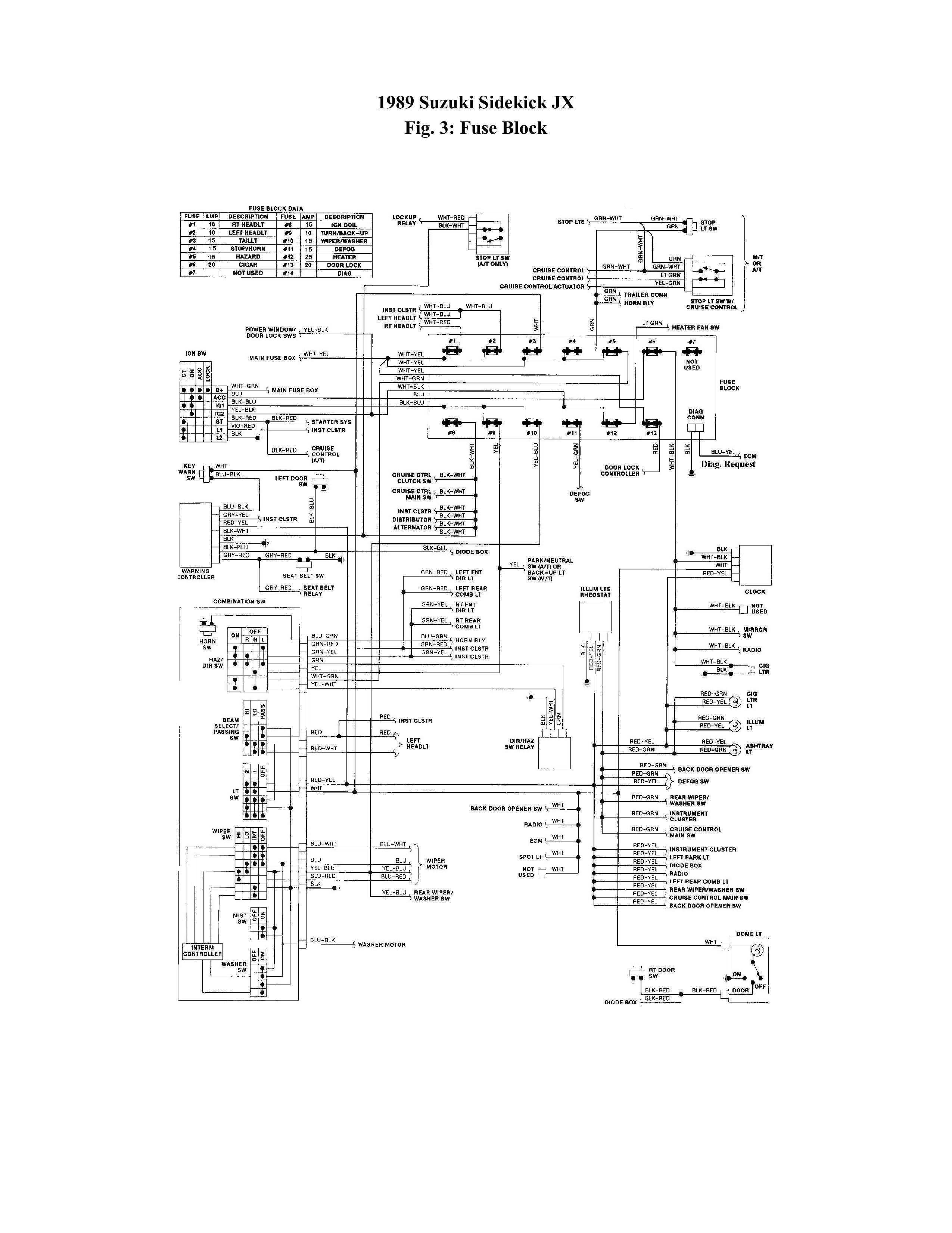 1989 suzuki sidekick wiring diagrams wd 1448  suzuki samurai wiring diagram likewise 1993 geo prizm  wiring diagram likewise 1993 geo prizm
