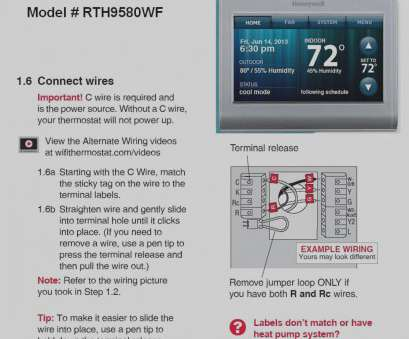 Ze 6321 Honeywell Wi Fi Thermostat Heat Pump Wiring Diagram Download Diagram