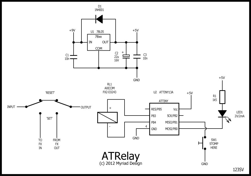de_6699] dpdt relay true bypass download diagram  marki grebs rele mohammedshrine librar wiring 101
