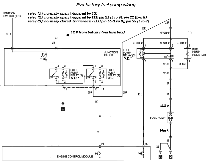 Miraculous Fuel Pump Wire With High Low Voltage Circuit Evolutionm Wiring Cloud Xempagosophoxytasticioscodnessplanboapumohammedshrineorg