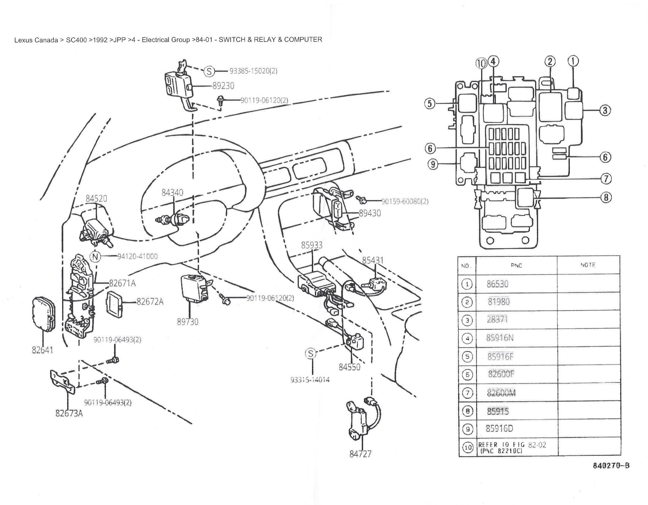 LO_3829] Toyota Soarer Fuse Box Location Schematic WiringWww Mohammedshrine Librar Wiring 101