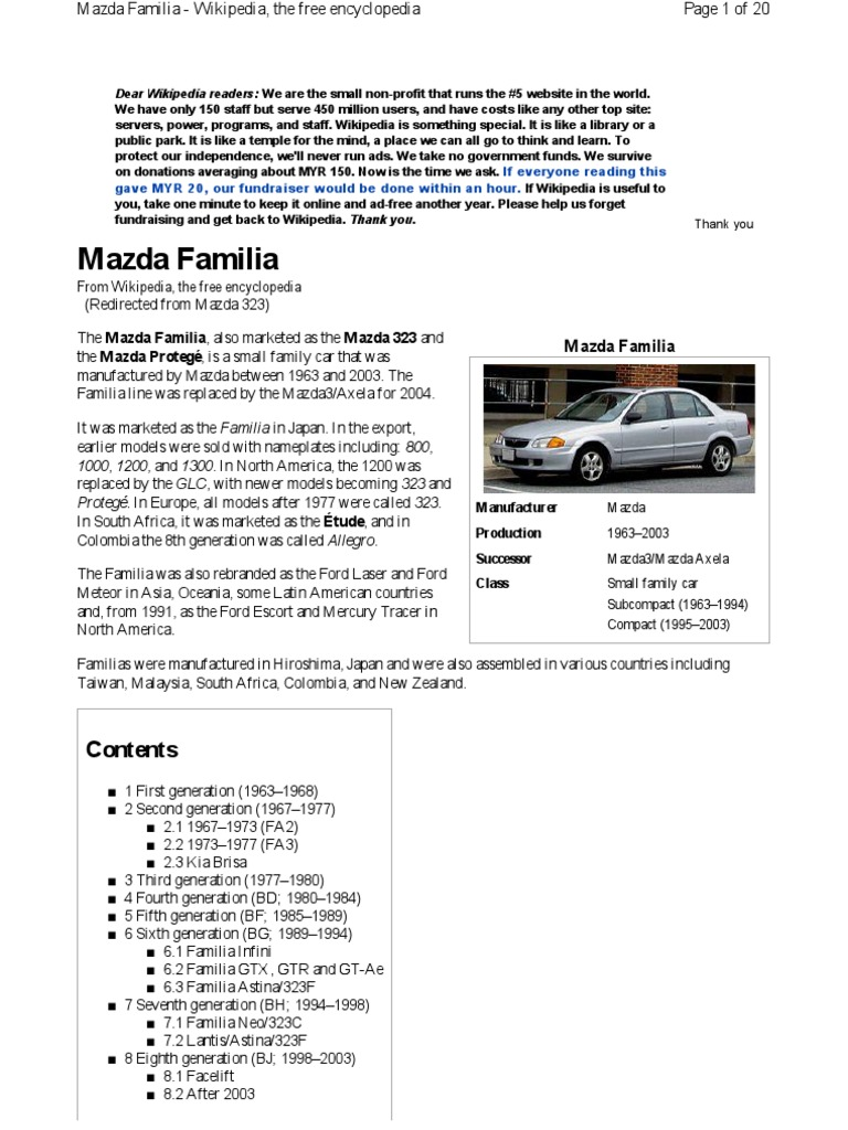 Wl 9186 About 2002 Mazda Familia Protege 5 Glc Electrical Wiring Images, Photos, Reviews