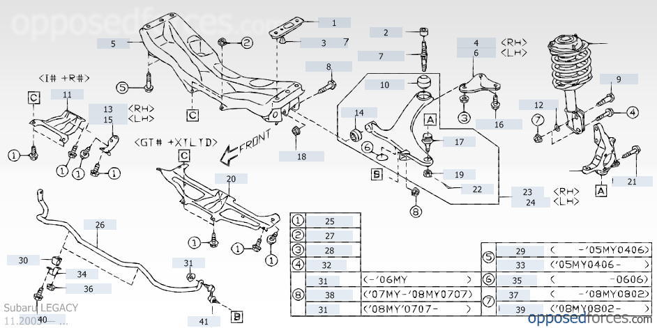 We 9134 2005 Subaru Legacy Parts Diagrams Schematic Wiring