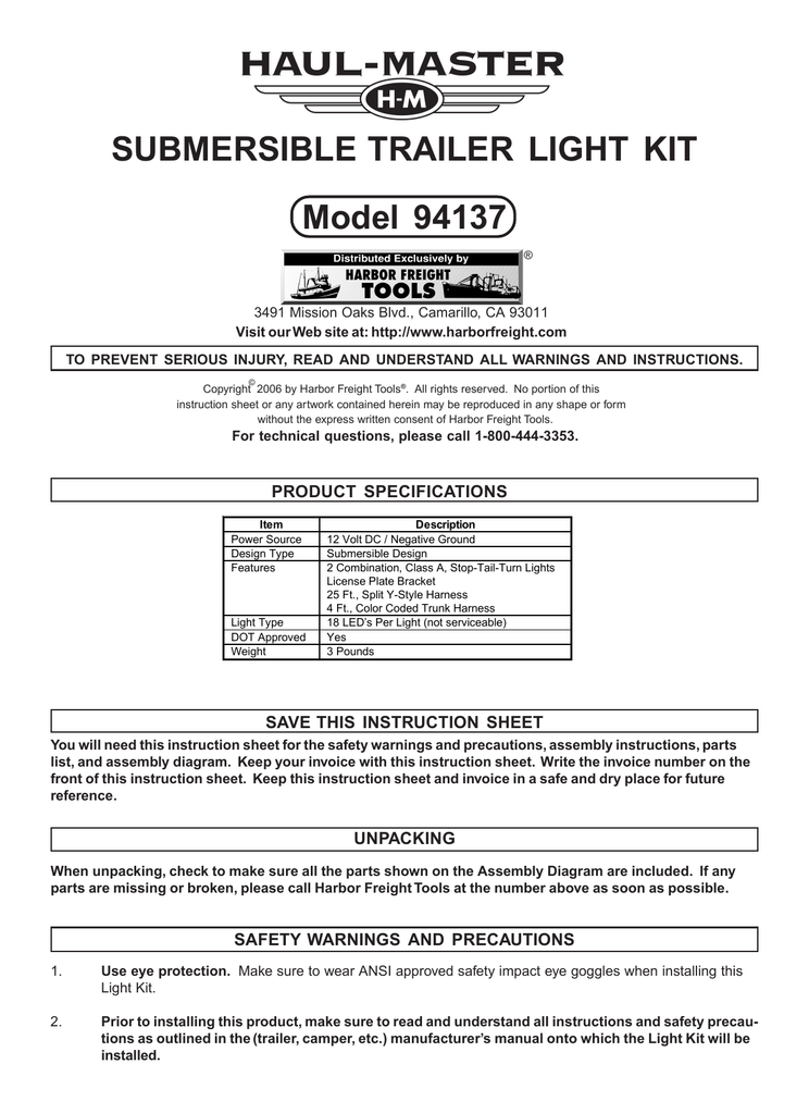 Harbor Freight Trailer Light Kit Wiring Diagram from static-assets.imageservice.cloud
