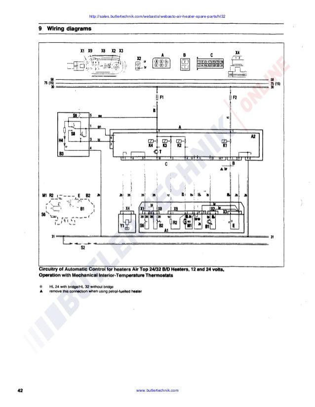Terrific Webasto Air Top Hl32 D Workshop Manual Wiring Cloud Mousmenurrecoveryedborg