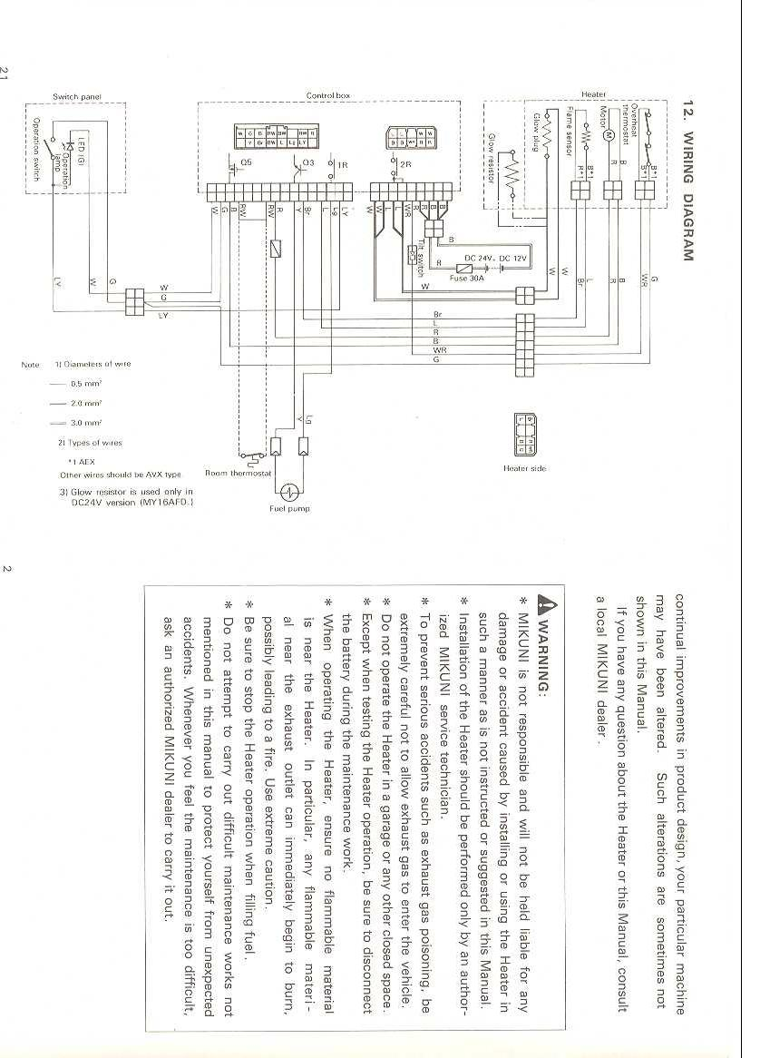 Ym 1439  Webasto Thermo Top Z C D Wiring Diagram Wiring