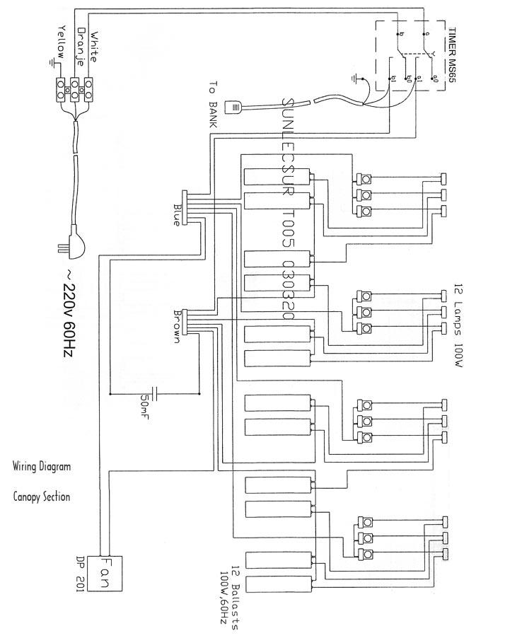 CZ_9733] Wiring Diagram For 220V Tanning Bed
