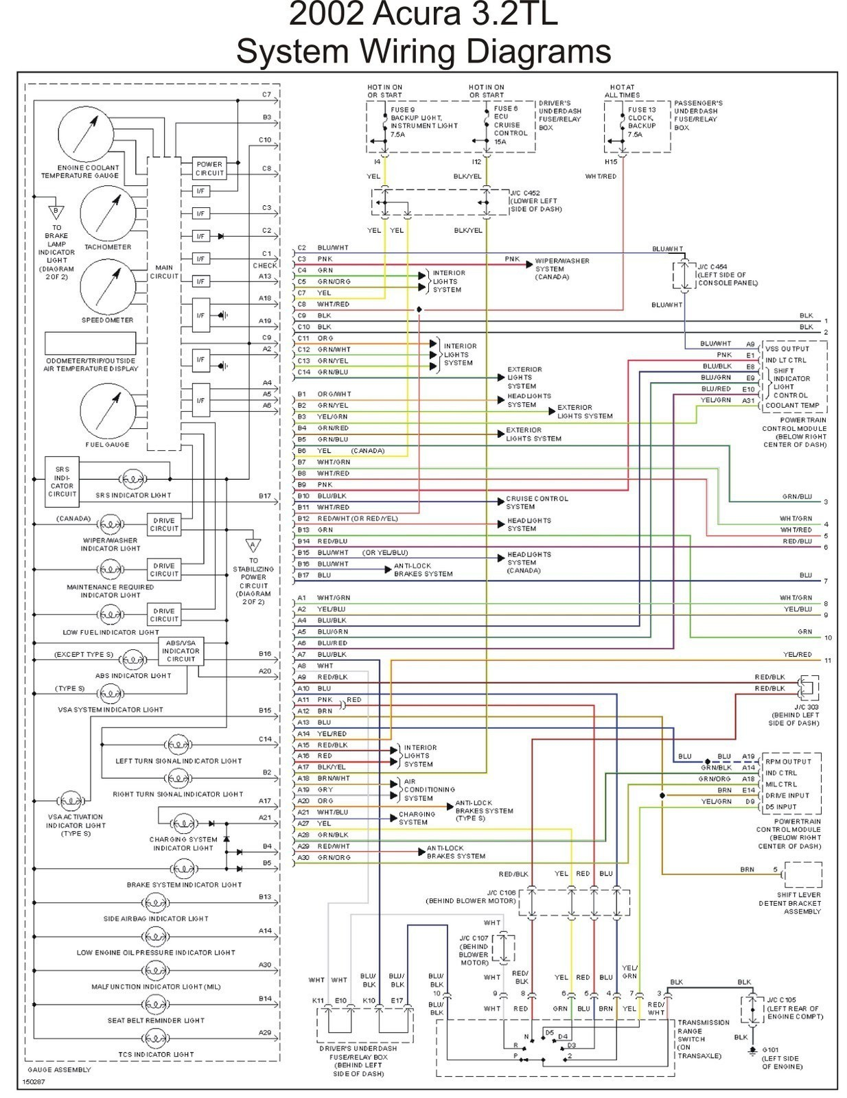 2006 Jeep Grand Cherokee Laredo Wiring Diagram