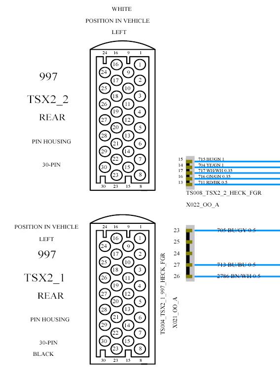 Porsche 997 Pcm Wiring Diagram
