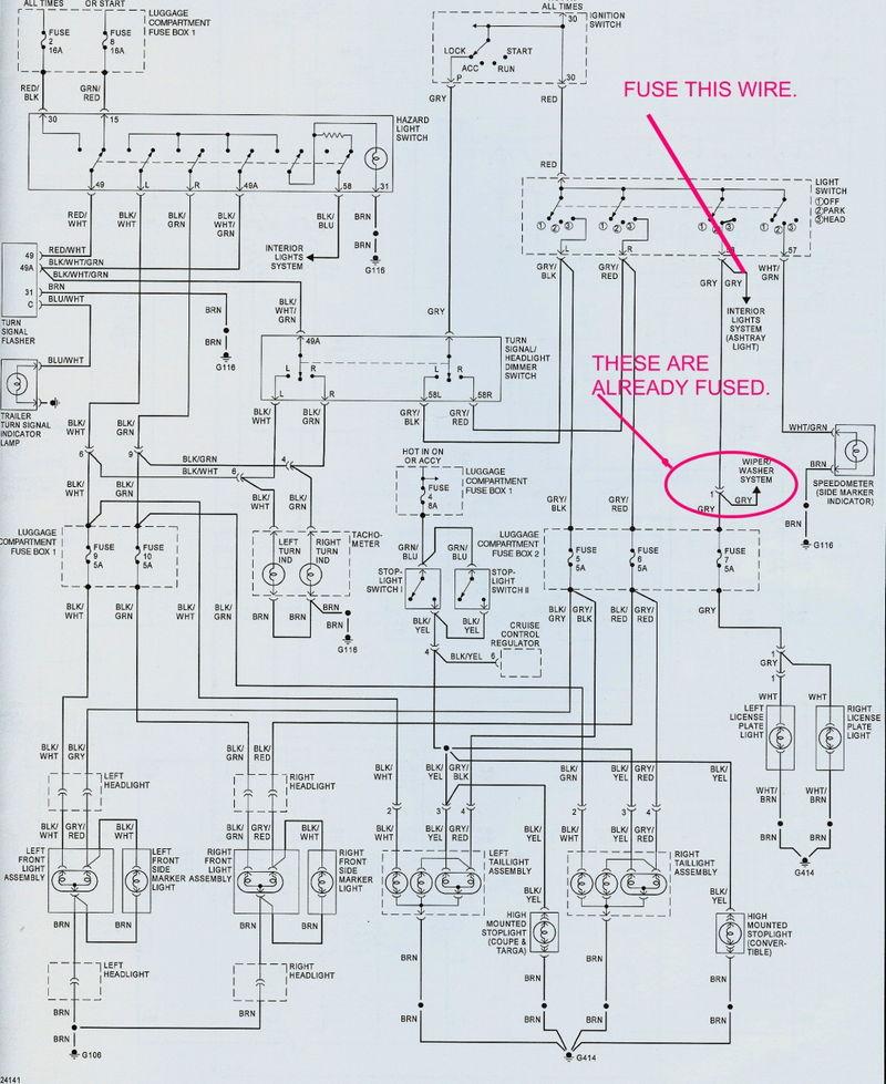 porsche 356 pre a wiring diagram gl 7942  porsche 924 headlight wiring diagram schematic wiring  porsche 924 headlight wiring diagram