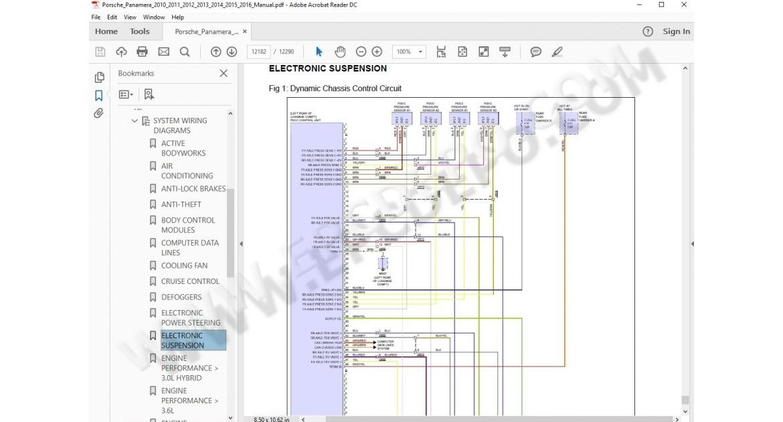 Porsche Panamera Wiring Diagram Wiring Diagram Frankmotors Es