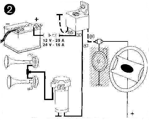 Be 0803 Air Horn Relay Wiring Diagram Besides 3 Way Switch Wiring Diagram
