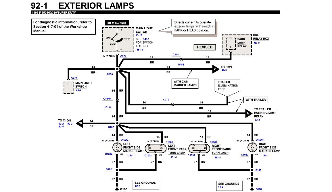 Peachy 1999 Ford F 350 Wiring Diagrams Basic Electronics Wiring Diagram Wiring Cloud Grayisramohammedshrineorg