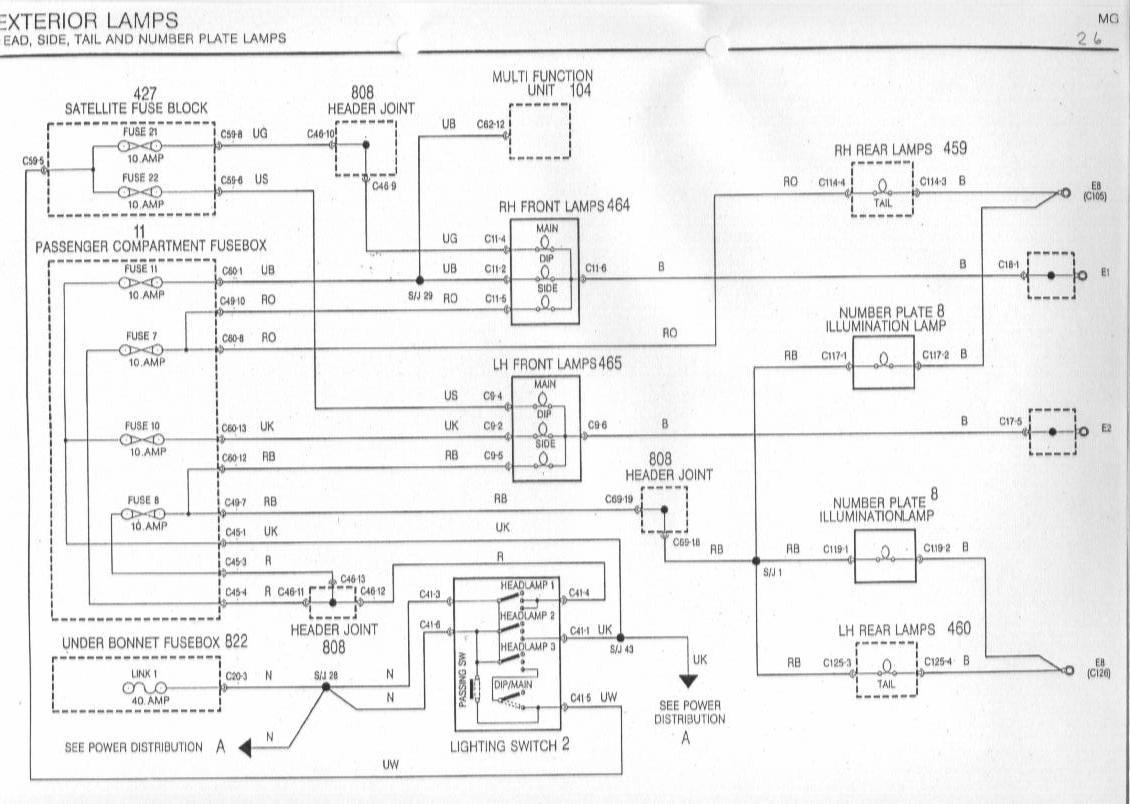 [DHAV_9290]  CH_5146] Rover Metro Wiring Diagram Schematic Wiring | Wiring Diagram Rover 75 Diesel |  | Phan Hyedi Mohammedshrine Librar Wiring 101