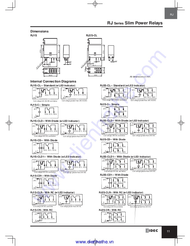 Ad 3668 Idec Rh2bulcac24v Relay Wiring Diagram Download Diagram