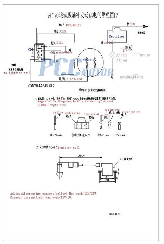 wiring diagram for 125 cc lifan to honda atc 70 velosolex