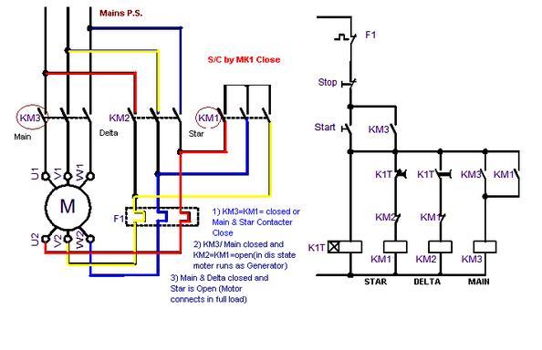 Siemens Wye Delta Starter Wiring Diagram