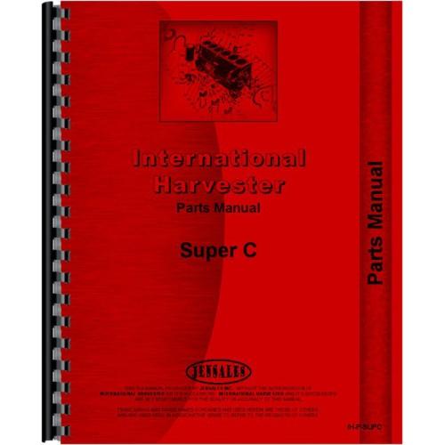 Ax 0086 Farmall Super C Parts Diagram Wiring Diagram