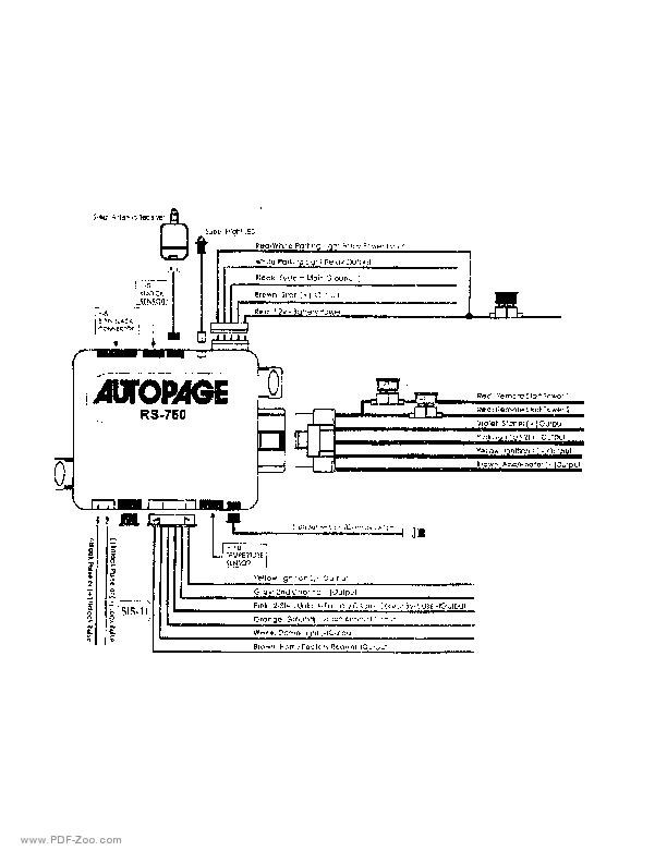 Autopage Rf 220 Wiring Diagram