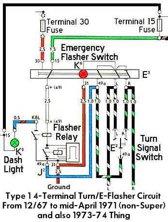 70 vw bug turn signal wiring  hitachi gsb107 wiring diagram