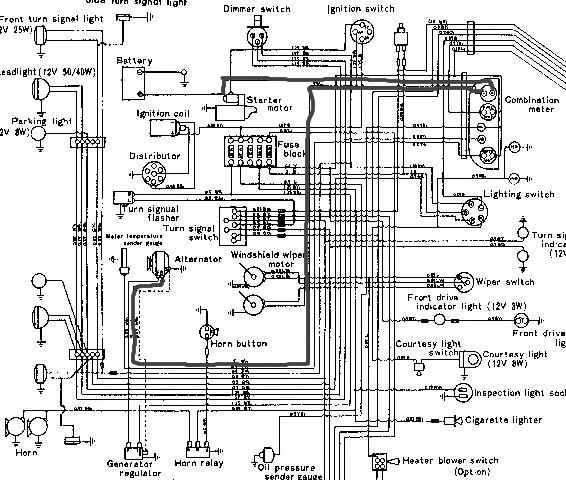 2h alternator wiring diagram  schematic wiring diagram load