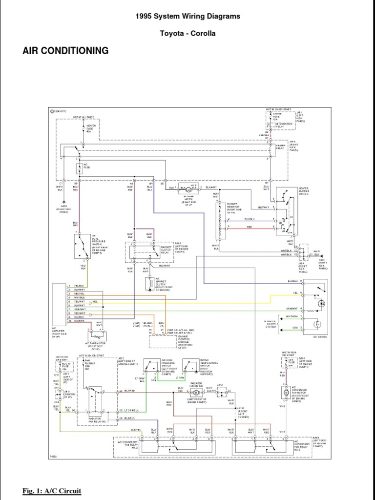 Corolla Wiring Diagram 1995