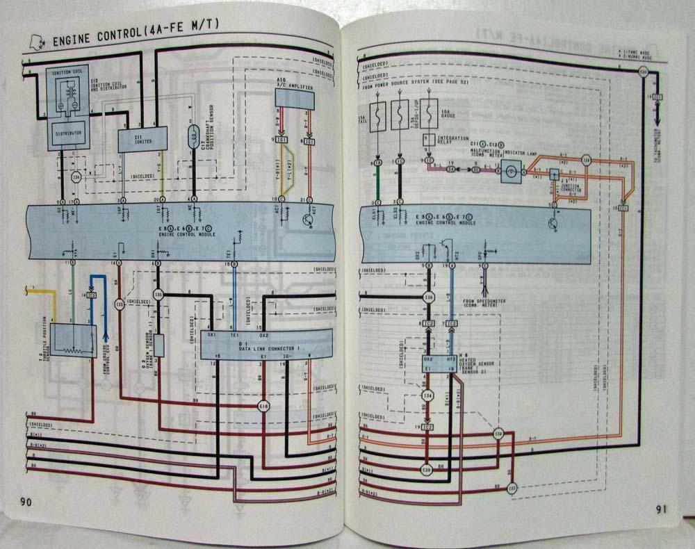 Strange 1997 Toyota Corolla Electrical Wiring Diagram Manual Us Canada Wiring Cloud Licukaidewilluminateatxorg