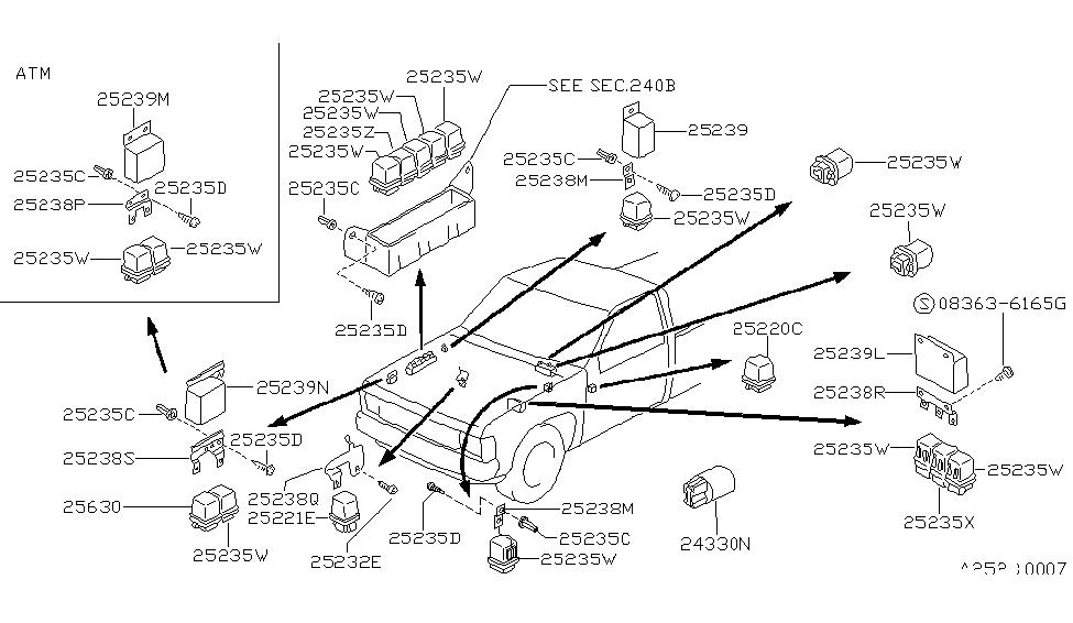 Tv 7928  1992 Nissan Pickup Parts Wiring Diagram