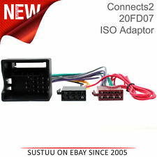 Astounding Ct20Fd12 Car Stereo Wiring Harness Iso Adaptor Lead For Ford Mustang Wiring Cloud Intelaidewilluminateatxorg