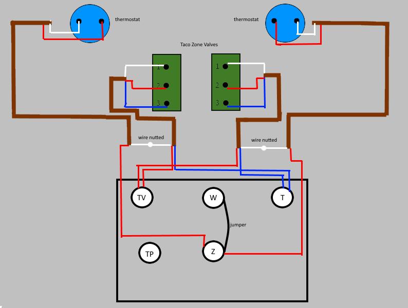 Ho 5367 Zone Valve Wiring Diagram Also Taco Zone Valve Wiring Diagram Multiple Free Diagram