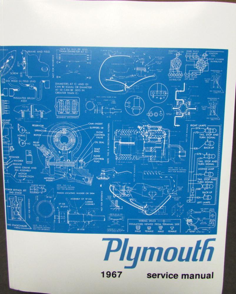 Hm 8054 1967 Plymouth Fury Wiring Diagram Schematic Free Diagram