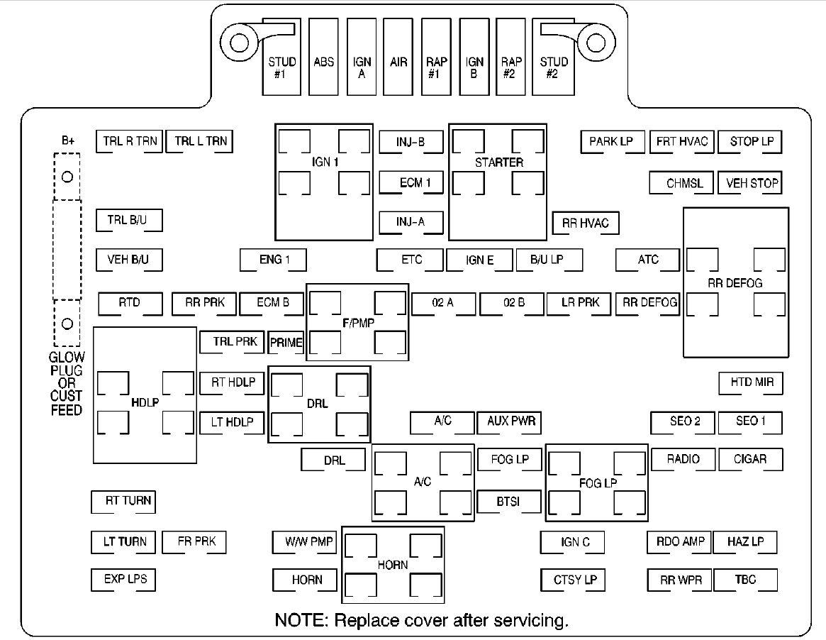 Fuse Box Diagram 2002 Denali Wiring Diagram For 1966 Dodge Power Wagon For Wiring Diagram Schematics