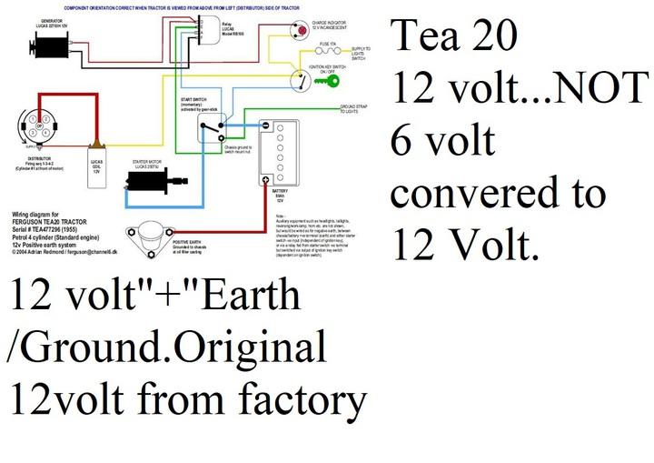 Ferguson To30 12 Volt Wiring Diagram - Wiring Diagram