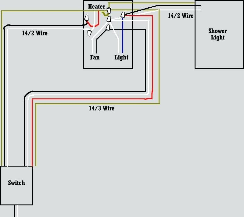 Wiring A Bathroom Heater Fan Light Combo | Bathroom Combo Exhaust And Heater Unit Wiring Diagram |  | louisnagel