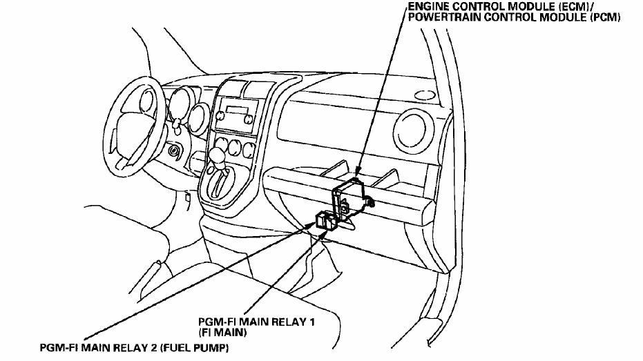 2005 honda element headlamp wiring diagram  daisy chain