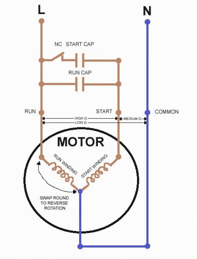 baldor single phase wiring diagram start cap rx 2439  single phase capacitor motor wiring diagrams transmission  single phase capacitor motor wiring