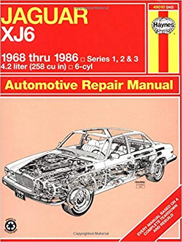 Amazing Jaguar Xj6 6886 Haynes Repair Manuals Haynes 0038345002427 Wiring Cloud Gufailluminateatxorg