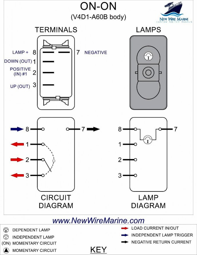 carling switch toggle spdt 2770h wiring diagram  club car