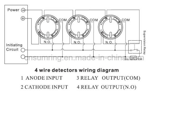 smoke detector wire diagram oc 2344  4 wire smoke detector wiring diagram download diagram  4 wire smoke detector wiring diagram