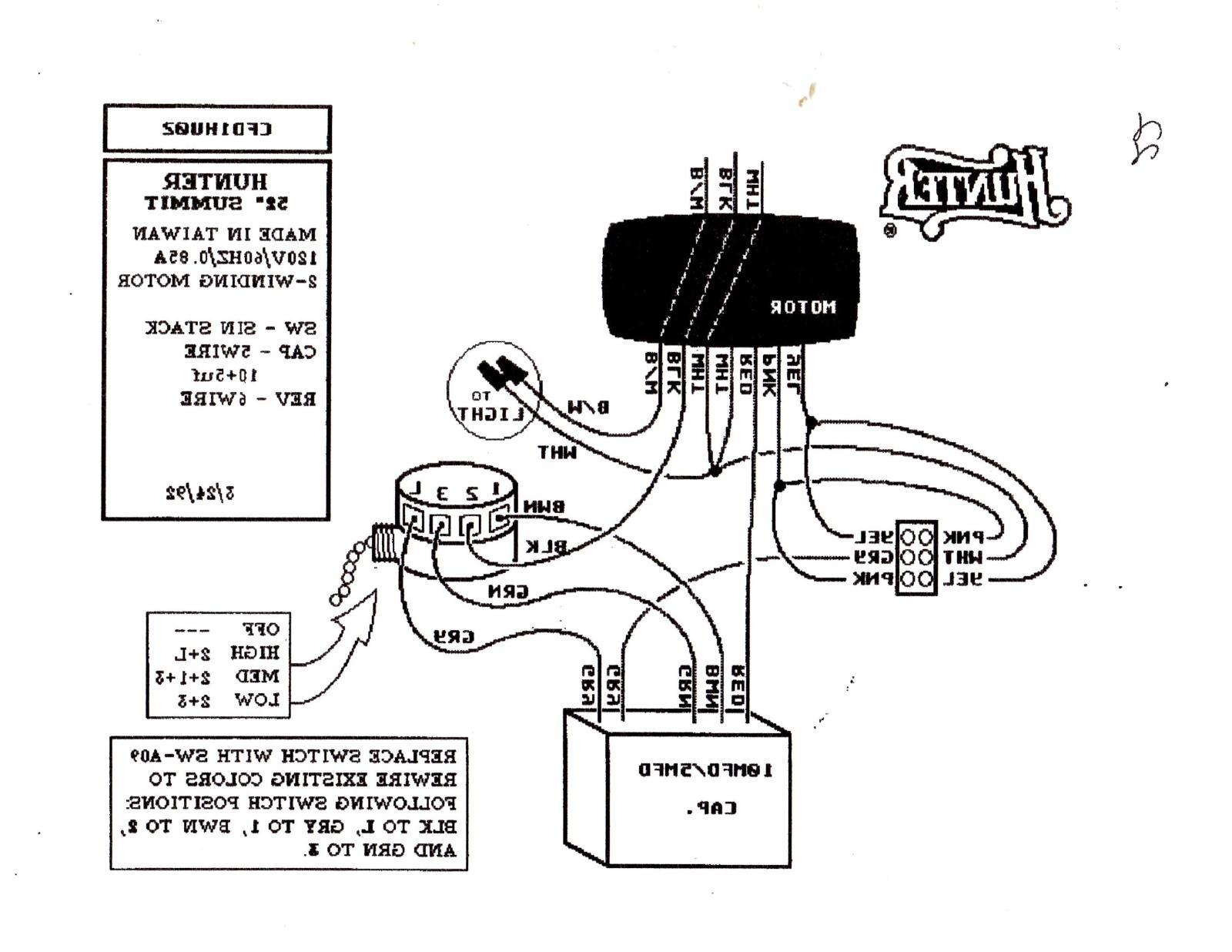 hunter fans wiring diagram - Wiring Diagram