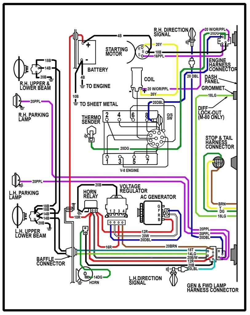 1970 chevy alternator wiring diagram 1966 chevy truck wiring wiring diagram data  1966 chevy truck wiring wiring