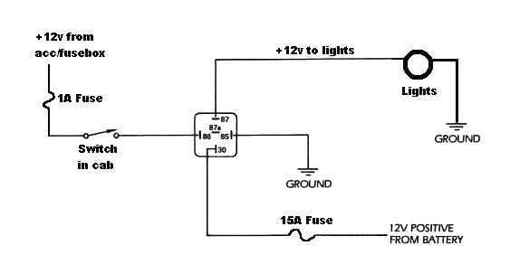 5 Pin Relay Wiring Diagram Light Bar - Wiring Diagram