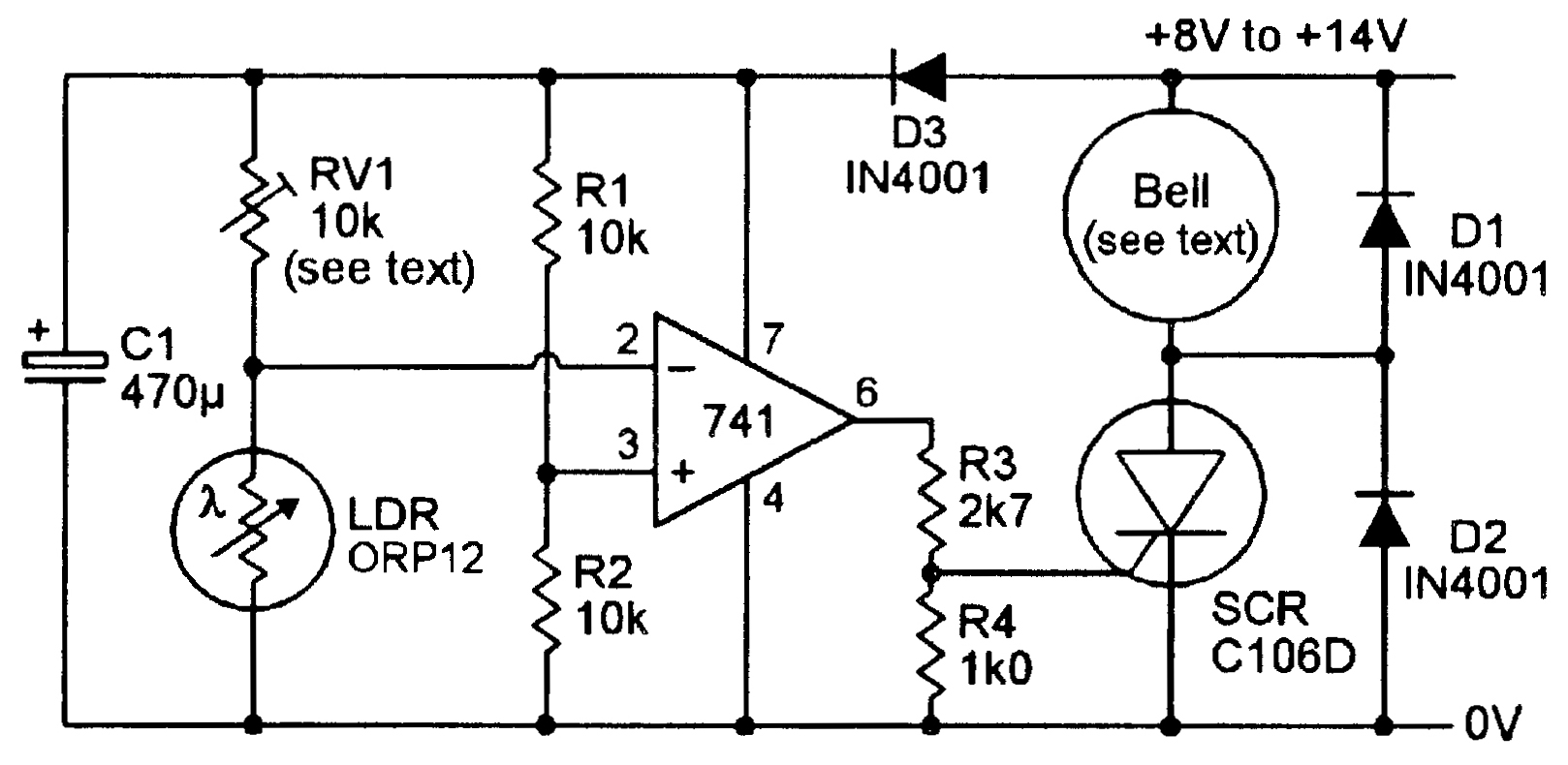 Ov 6790  Sound Activated Switch Sensitive Sound Activated