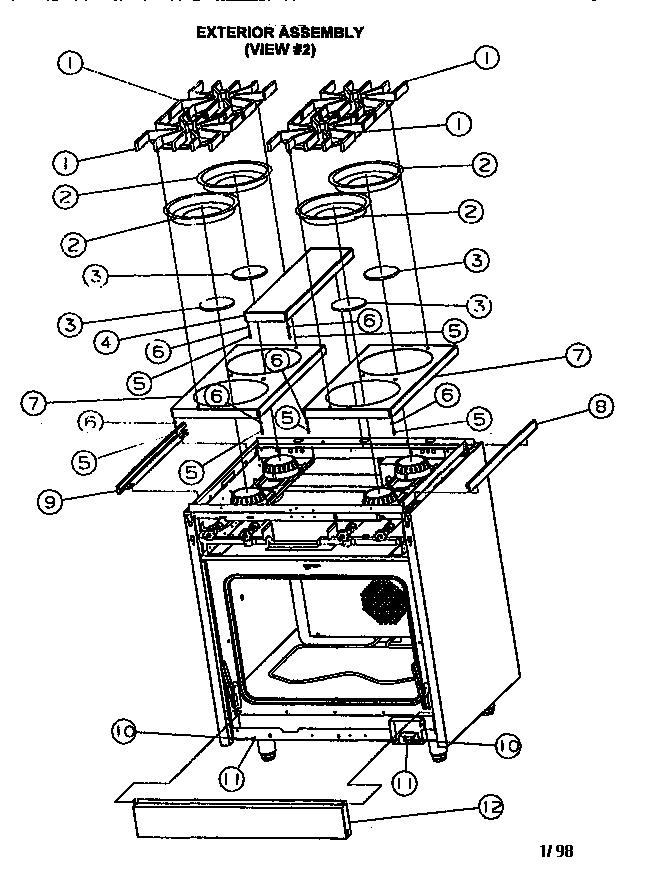 ZE_1448] Diagram Refrigerator Viking Wiring Vcsb483Dbk Schematic Wiring