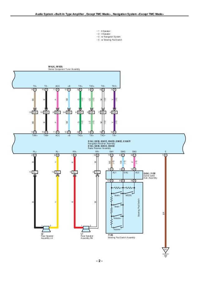 Gk 4368 2010 Toyota Corolla Speaker Wiring Diagram Wiring Diagram