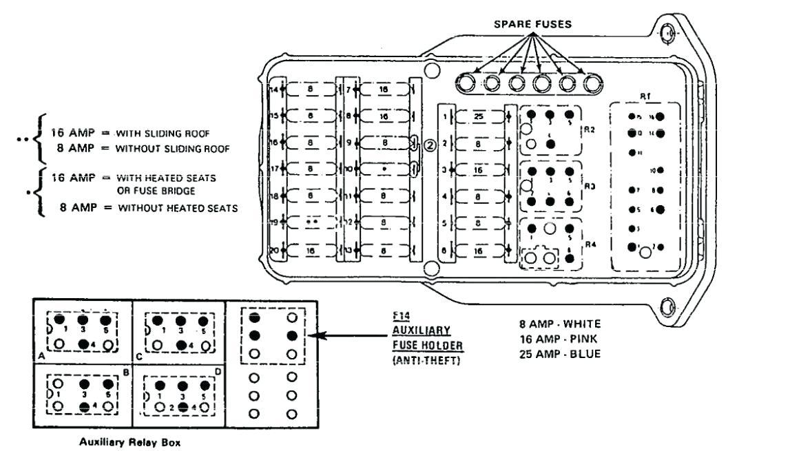 Wiring Diagram Mercedes 190e