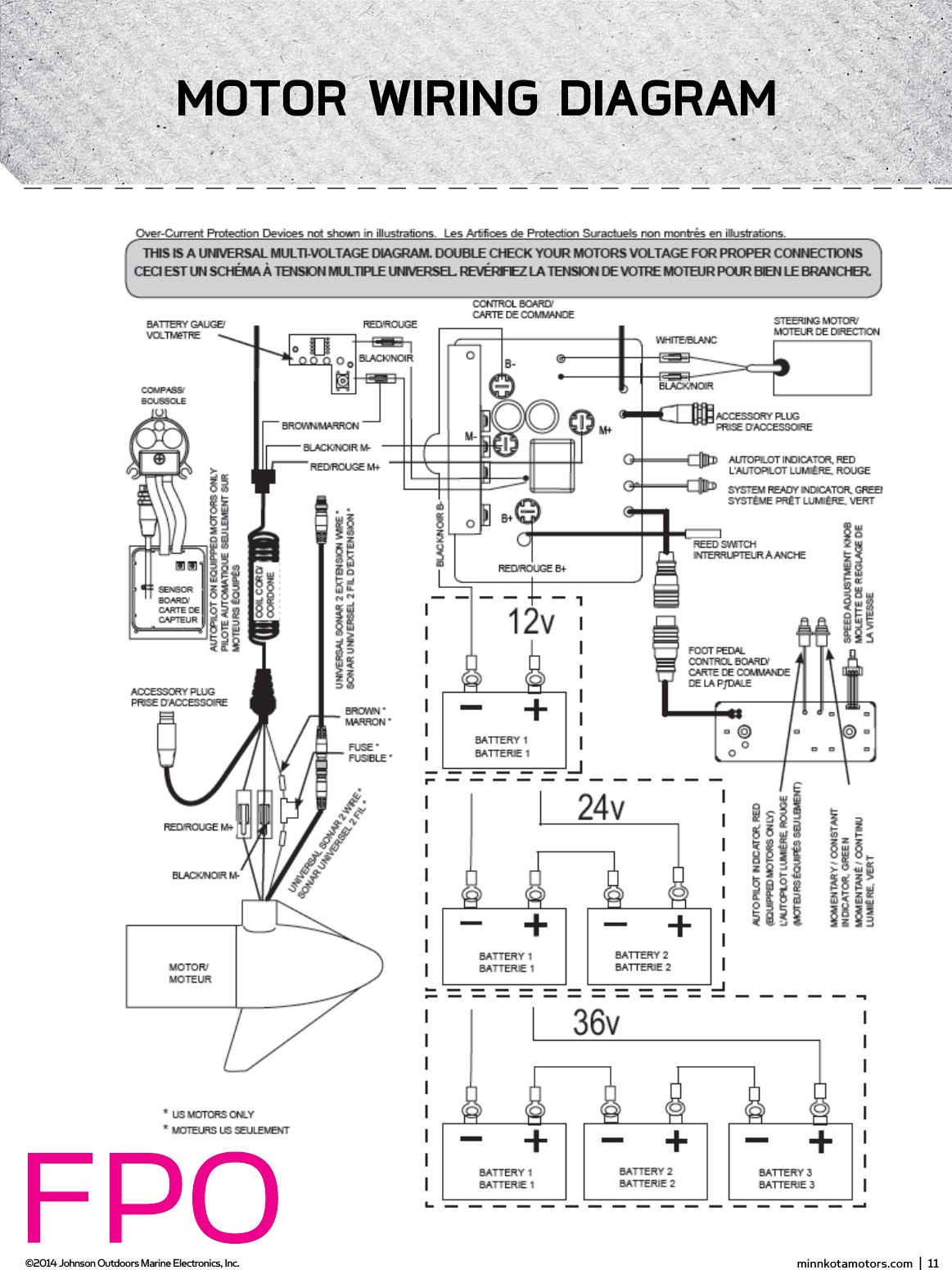 Minn Kota Power Drive Wiring Diagram